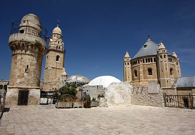 Dormition Abbey and Nabi Daud Mosque