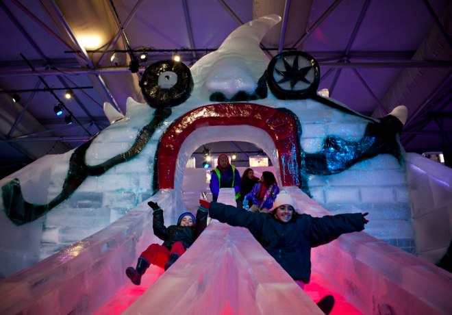 International Ice Festival - The Monster