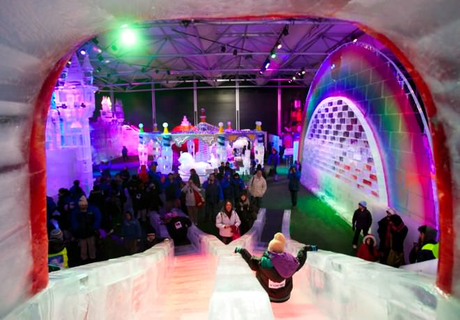 International Ice Festival - Inside the Monster