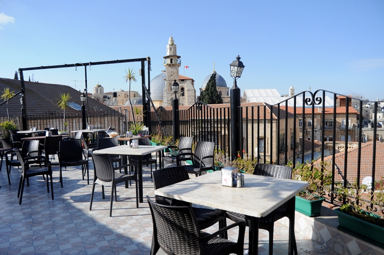 Panoramic Golden City Restaurant Jerusalem