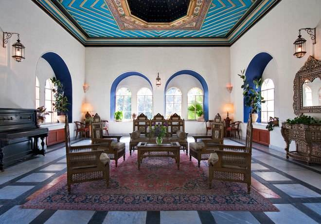American Colony Hotel - The Pasha Room Lounge