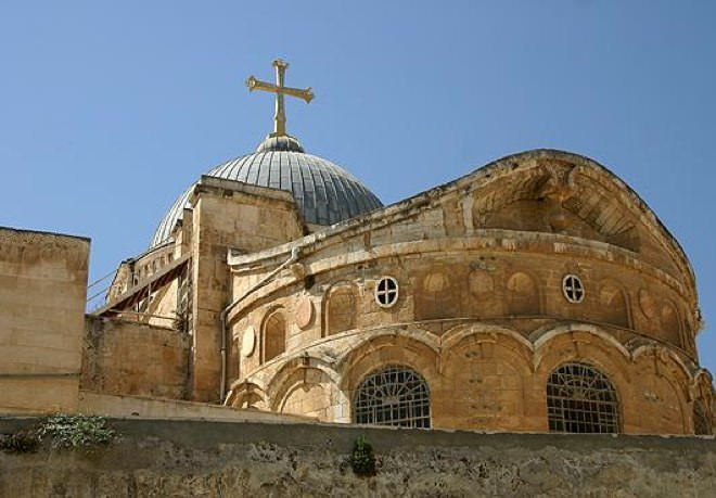 The Roof of The Holy Sepulchre Church