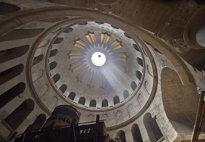 The Holy Sepulchre Church - The Ceiling
