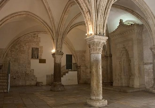 The Hall of the Last Supper, Mount Zion