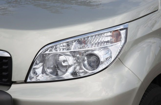 Chrome Top Head Lamp Cover