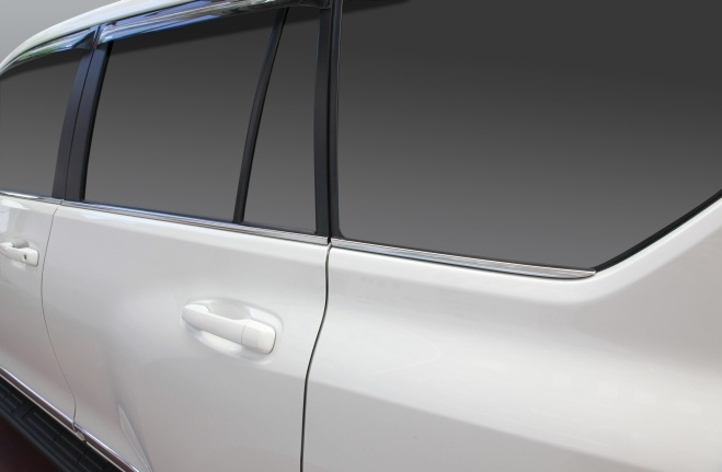 Chrome Door Accent