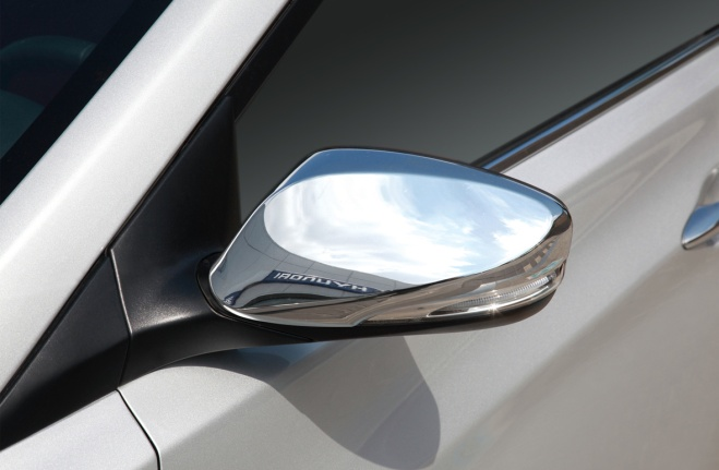 Side Mirror Chrome Cover