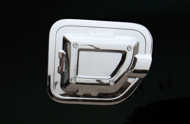 Chrome Fuel Tank Cover