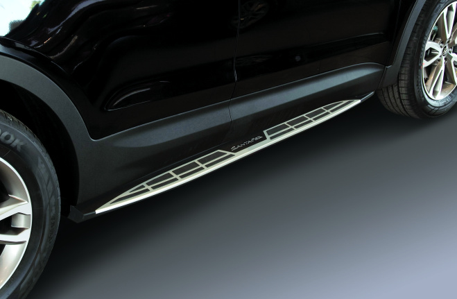 Side molding protective stripes