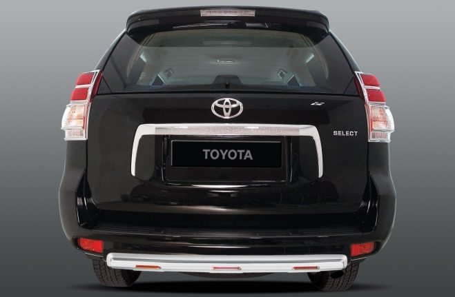 Silver Colored Rear Bumper