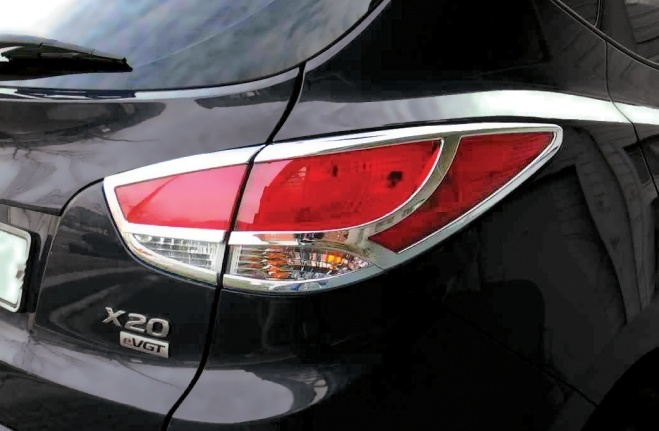 Chrome Tail Lamp Cover