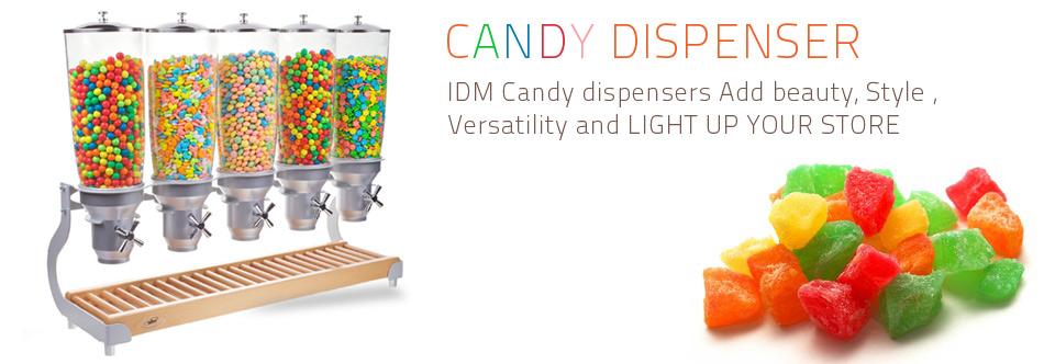 Candy dispenser idm - Distributeur de bonbons professionnel ...
