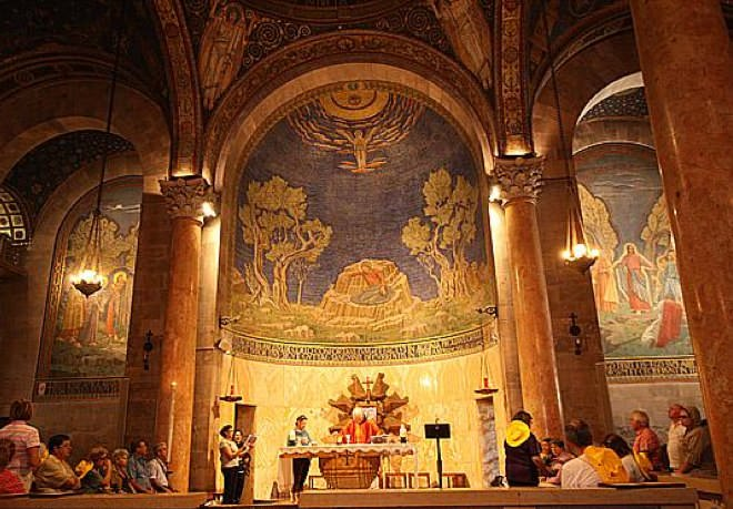 Gethsemane Church - Mount of Olives