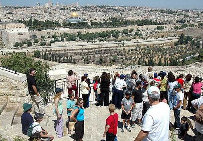 Mount of Olives - View of the Old City