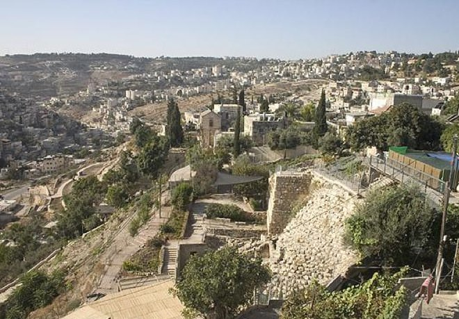 The City of David, Southern View