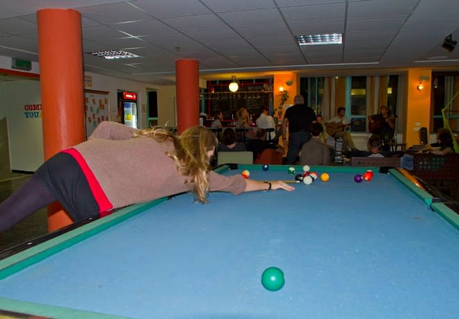 Abraham Hostel - Pool Table