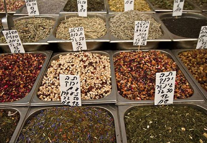 Spices at the Machane Yehuda Market