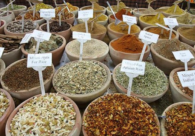 The Old City Market - Spices