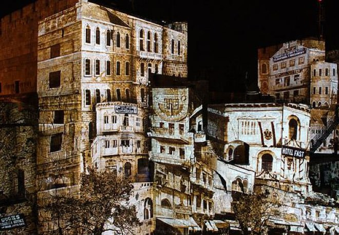 The Spectacular Night Show at the Tower of David