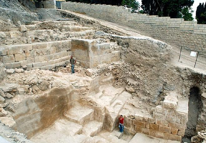 Mount Zion Archeological Excavations