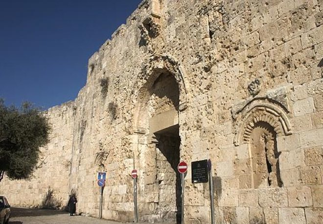 Zion Gate - the Entrance into the Jewish Quarter