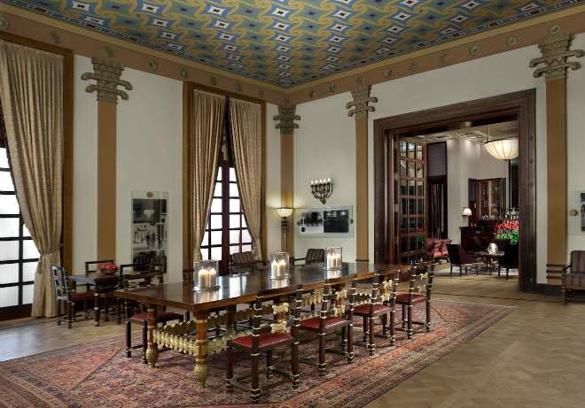King David Hotel - Reading Room
