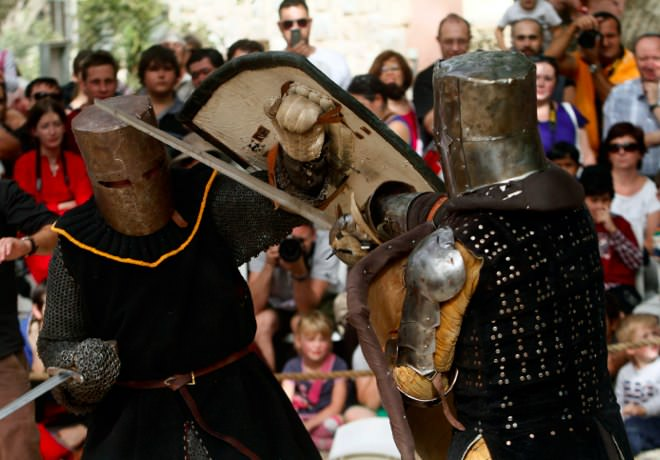 Jerusalem Knights in the Old City