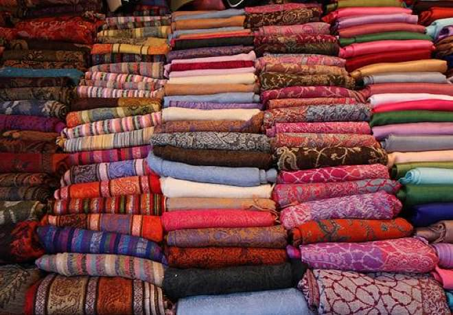 A Fabric Store in The Old City Market