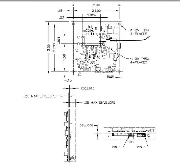 OEM Seed Laser Driver Assembly 763