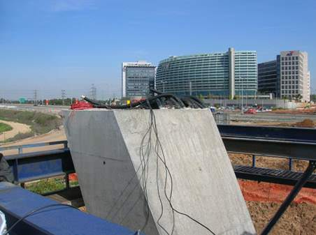 Bridge fiber monitoring