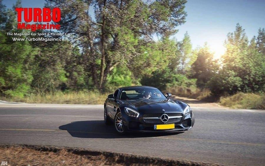 למעלה מרצדס AMG GTS במבחן בלעדי בישראל . - Turbo Magazine PG-14