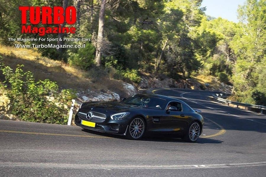 מגניב מרצדס AMG GTS במבחן בלעדי בישראל . - Turbo Magazine HQ-43