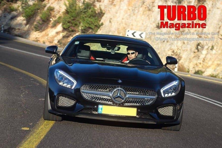 סנסציוני מרצדס AMG GTS במבחן בלעדי בישראל . - Turbo Magazine XE-75