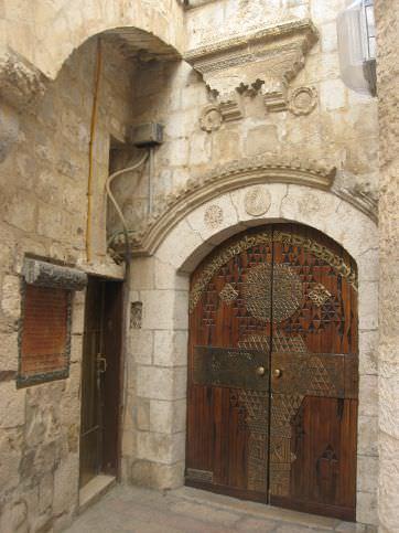 סנסציוני בתי הכנסת הספרדיים   אתר העיר העתיקה בירושלים VG-04