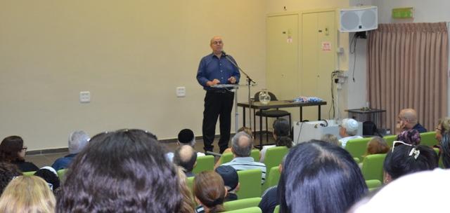 הרצאה באירוע לעובדים