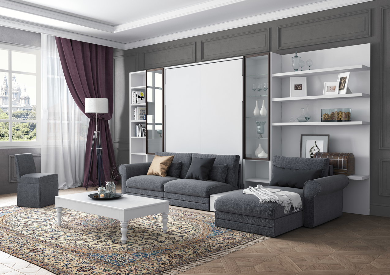 Wtu Wall Bed Sofa 221 Milano Smart Living