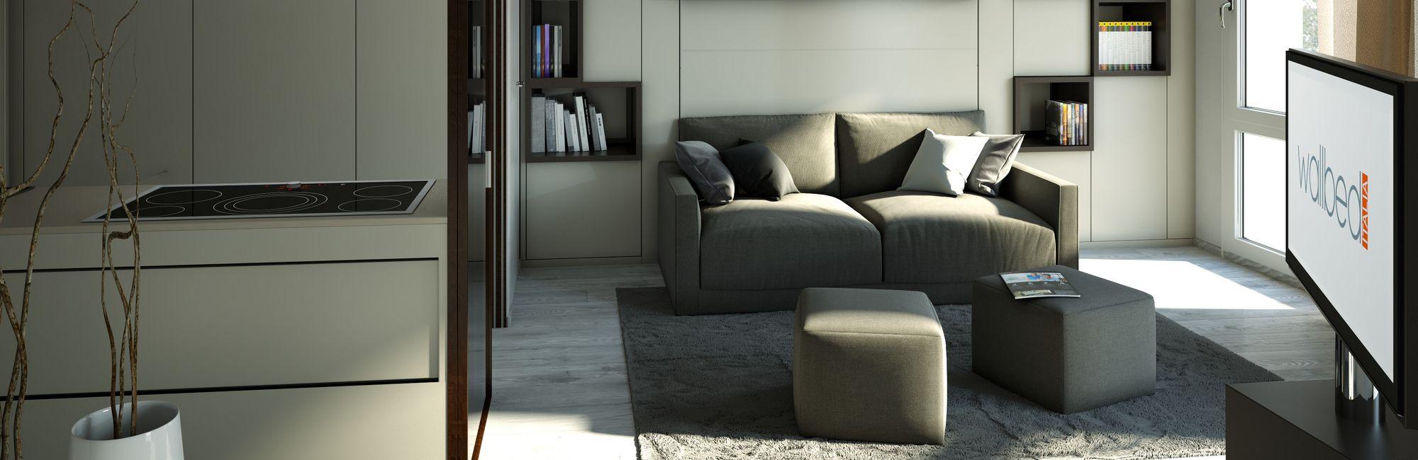 Milano Smart Living Space Saving Furnitures