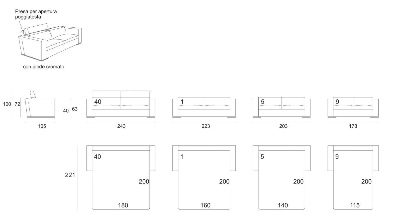 Double Sofa Bed Dimensions Solsta Sleeper Sofa Ikea Thesofa