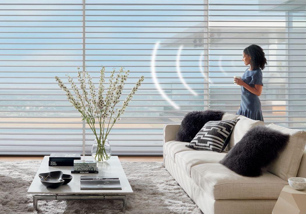 וילונות לסלון - תריסים חשמליים