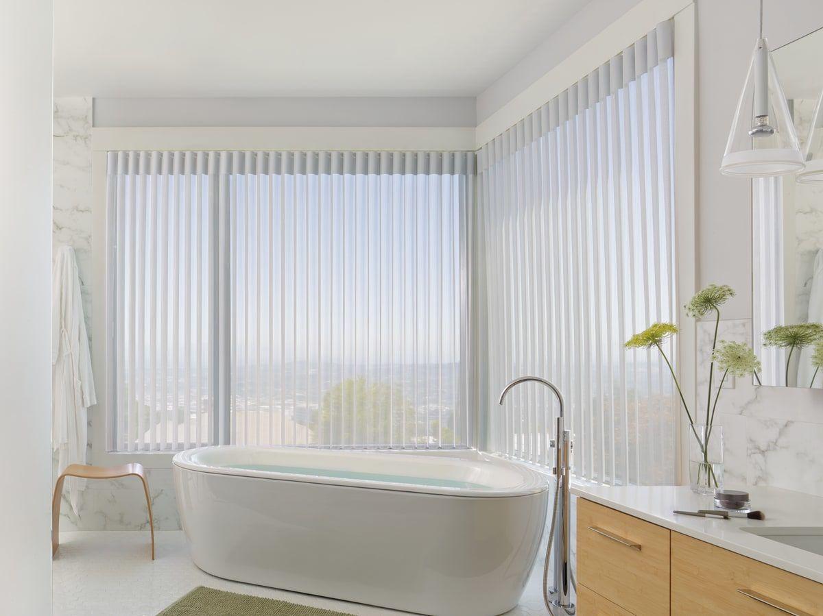 וילונות לאמבטיה אורגון לבן