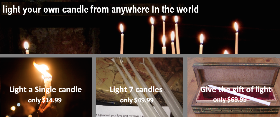The Church of Holy Sepulchre Jerusalem. u203au203a Inspirational Prayers for Lighting Candles. u203au203a & Inspirational Prayers for Lighting Candles - Sepulchre-Candles
