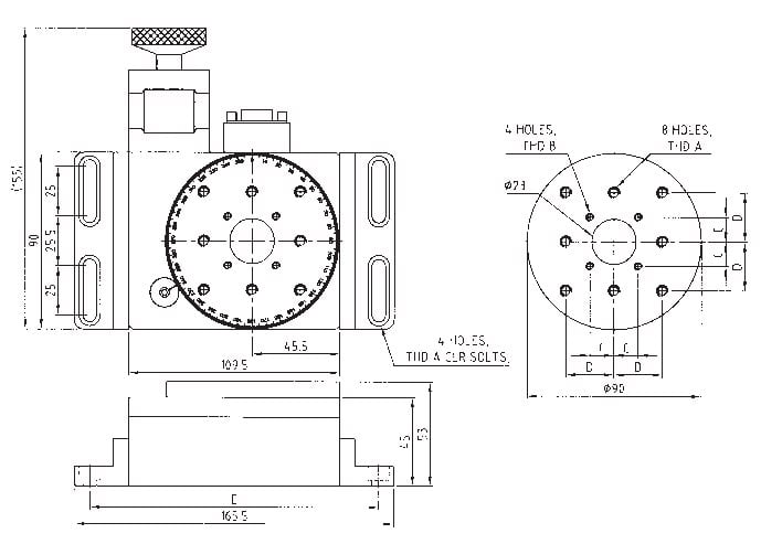 Motorized Rotation Stage