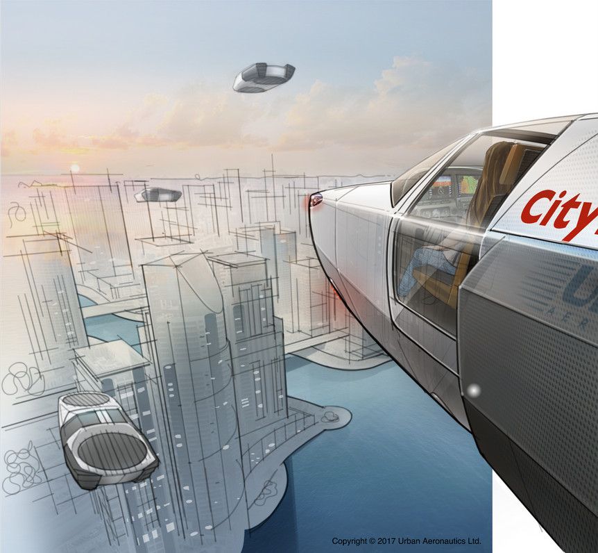 Metro Skyways Ltd., a subsidiary of Urban Aeronautics Announces Four Passenger Future Hydrogen Powered VTOL Flying Car